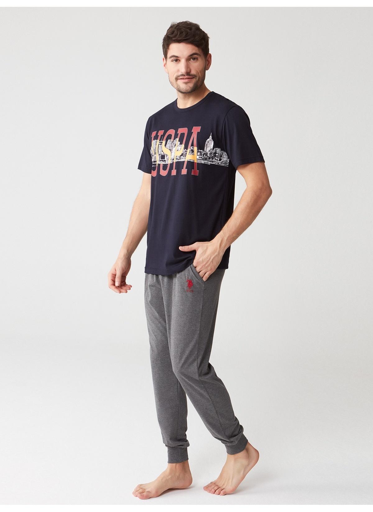 Erkek U.S. Polo Assn. Pijama Takım